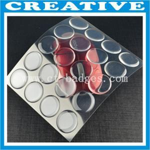 """Buy cheap 1"""" PU Clear Epoxy Sticker product"""