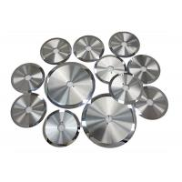 Buy cheap Non - Ferrous Metal Cutting Blade , High Precision Slitting Machine Tungsten Carbide Blades from wholesalers