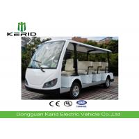 Buy cheap White Color Electric Sightseeing Car For Multiple Public Zone Payload 11 Person product