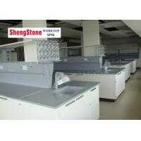 Buy cheap Research Institute Epoxy Resin Countertops Chemical Resistant For School Laboratory product