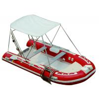 Buy cheap 25HP Motor Inflatable Fishing Boats Rigid Hull Inflatable Boats 3.5 Meter Length from wholesalers