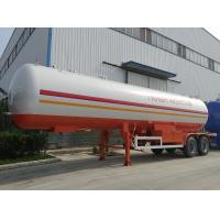 Buy cheap high quality and cheapest price 2 axles 17tons lpg gas tank trailer for sale, factory sale best price 40.5m3 lpg trailer from wholesalers