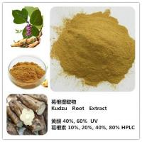 Buy cheap Natural Kudzu Root/Kudzu Root powder/pueraria mirifica extract powder/Kudzu Root Extract from wholesalers