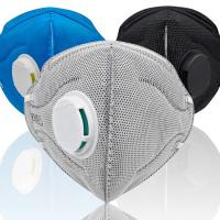 Buy cheap Safety Folding FFP2 Mask Anti Pollution Activated Carbon Respirator Mask from wholesalers