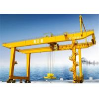 Buy cheap Portal Rail Mounted Container Gantry Crane Lifting Equipment For Offload / Stack from wholesalers