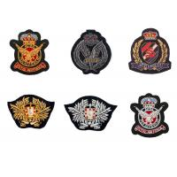 Buy cheap Indian silk sea land army eagle bird badge embroidery England clothes decoration patch American uniform product