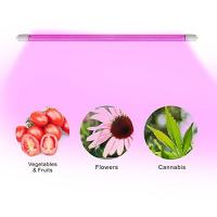 Buy cheap 4 Feet IP65 LED Tube Grow Lights Aluminu PC With Water Joint , 120° Angle product