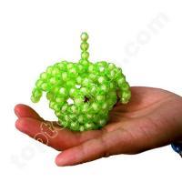 Buy cheap mini green acrylic beaded apple product
