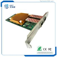 Buy cheap F1002E PCIe 10Gb  2-Port fiber optic NIC Network Card Server Adapter from wholesalers