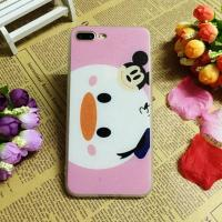 Buy cheap PC+TPU Silk Grain Cute Donald Duck Image Cell Phone Case Cover For iPhone 7 6s Plus from wholesalers