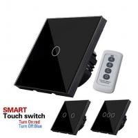 Buy cheap EU/UK Standard Touch Switch 1 Gang 1 Way, Luxury touch screen switch home automation system from wholesalers