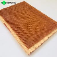 Buy cheap Good Sound Absorption Aramid Fiber Nomex Honeycomb Core With Foam On Sale from wholesalers