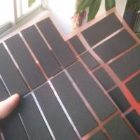 Buy cheap Professional die-cutting black glossy pe foam gum high quality 0.3 thick PE foam from wholesalers
