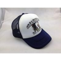 Buy cheap Ladies Personalized Mesh Cap , Navy Baseball Hat Structured 5 Panel from wholesalers
