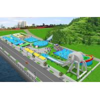 Buy cheap PVC Material Customized Inflatable Products / Water Park Games For Outdoor from wholesalers