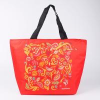 Buy cheap Recycled Insulated Cooler Bags Portable Custom Printed Tote , Drink Cooler Bag from wholesalers