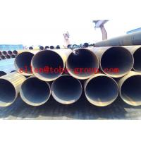 Buy cheap Round Welded Stainless Steel Tubing , ASTM A554 Large Dimaer Water Pipe from wholesalers