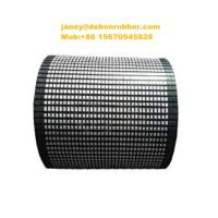 Buy cheap 2018 hot selling Conveyor belt drum roller rubber pulley ceramic lagging from wholesalers
