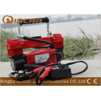Buy cheap 150 L/min 12V portable Air Compressor 2mm x 40mm cylinder Air flow from wholesalers