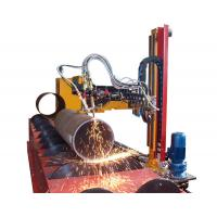 Buy cheap Pressure Vessel Building CNC Laser Tube Cutter , 1250mm CNC Plasma Pipe Cutting Machine from wholesalers