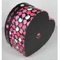 Buy cheap Colorful Heart Shape Paper Box Packaging Apply To Valentine 's Day Gift product