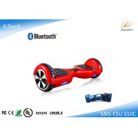 Buy cheap Bluetooth speaker 2 wheel self balancing electric hoverboard with LED light from wholesalers