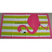 Buy cheap China manufacturer 100% cotton printed beach towel , customer design from wholesalers