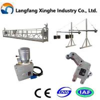 Buy cheap zlp800 suspended working platform for construction from wholesalers