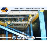Large Capacity Gravity Flow Pallet Rack, ISO Rolling Tire Storage Rack