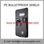Buy cheap Wholesale Cheap China Army Nijiiia Military Police PE Bulletproof Shield from wholesalers
