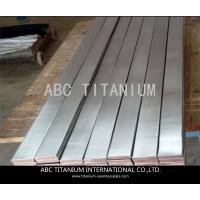 Buy cheap ASTM F136 ti-6al-4v grade5 medical titanium flat bar best quality from wholesalers