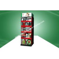 Buy cheap Two Side Show Cardboard Free Standing Display Units With Five Shelf For Kitchenware With UV Coating from wholesalers