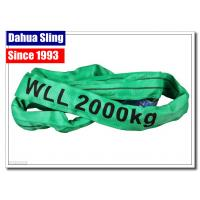 Buy cheap Single Ply Round Endless Sling Heavy Duty Recovery Straps With Logo Printed from wholesalers