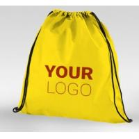 Buy cheap Tote shopping bag supplier recyclable pp laminated non woven bag, Promotional ultrasonic Golden non woven laminated shop from wholesalers