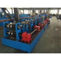 Buy cheap Hydraulic Standing Seam Roll Former , C Channel Roll Forming Machine For Steel Constructions product