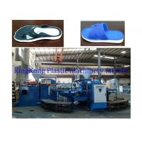 Buy cheap Safety PCU Flip Flop Slipper Shoe Moulding Machine / Manufacturing Equipment from wholesalers
