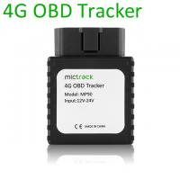 Buy cheap Play and Plug Tracking Wireless 4G LTE Vehicle Car GPS OBD Tracker Device from wholesalers
