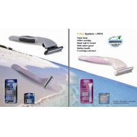 Buy cheap 615 triple blade system razor with USA import razor refills from wholesalers