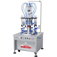 Buy cheap Full Penmatic Ten Heads Rotary Perfume Filling Machine from wholesalers