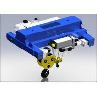 Buy cheap Customized Electric Wire Rope Hoist Trolley Low Headroom Lifting Devices Easy Maintenance from wholesalers