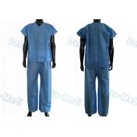 Buy cheap Dustproof Non Toxic Medical Scrub Suit , Breathable Surgical Scrub Suits from wholesalers