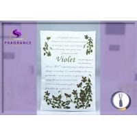 Buy cheap Environmental 27g Violet / Greenleaf Scented Envelope Sachet from wholesalers
