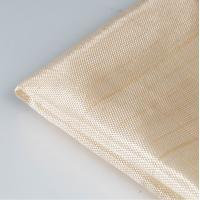 Buy cheap Fireplace Glass Fiber Fabric , HT200 Fibreglass Cloth Roll Good Thermal Conductivity from wholesalers