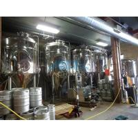 Buy cheap Hotel / Barbecue / Resturant / Ginshop Micro Brewery System Micro Beer Plant from wholesalers