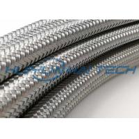 Buy cheap Metallized Mylar Stainless Steel Braided Cable Sleeving High Physical Strength from wholesalers