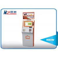 Buy cheap Coin counting touch screen kiosk  with cash acceptor all in one optional POS terminal from wholesalers