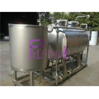 Buy cheap Semiauto CIP Cleaning System 500L Tank For Dairy / Beer / Beverage Processing Line from wholesalers