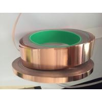 Buy cheap 12mm x 50m Copper Foil Tape with Conductive Adhesive for EMI Shielding from wholesalers