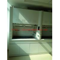Buy cheap Alkali And High Temperature  Resist All Steel Fume Hood With Third Level Air Exhaust / Tempered Glass Window from wholesalers