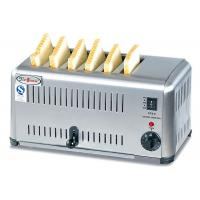 Buy cheap Commercial 6 / 4 Slice Electric Toaster Snack Bar Equipment / Toast Bread Machine product